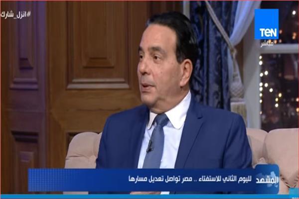 أيمن أبو العلا رئيس الهيئة البرلمانية لحزب المصريين الأحرار