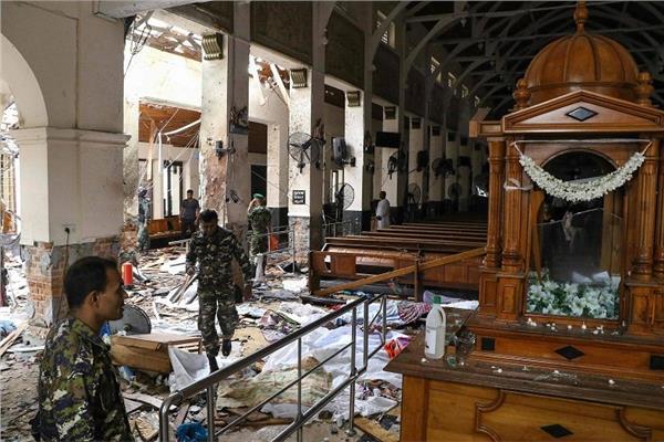 صورة من التفجيرات