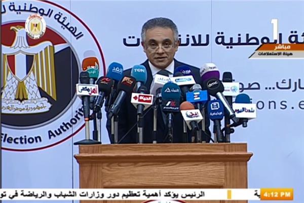 المستشار محمود الشريف، المتحدث باسم الهيئة العليا للانتخابات