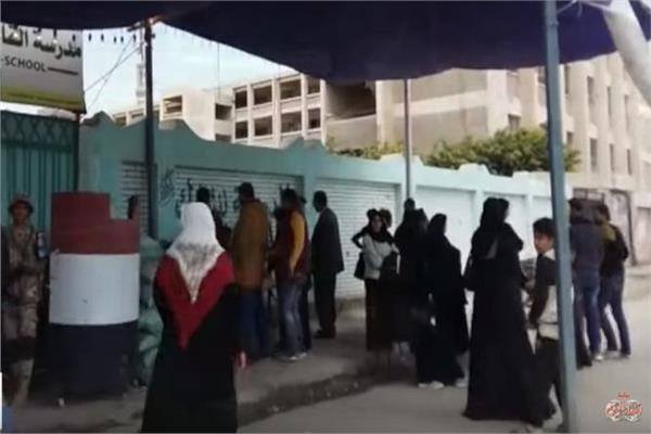 تزايد الإقبال على الاستفتاء في بورسعيد