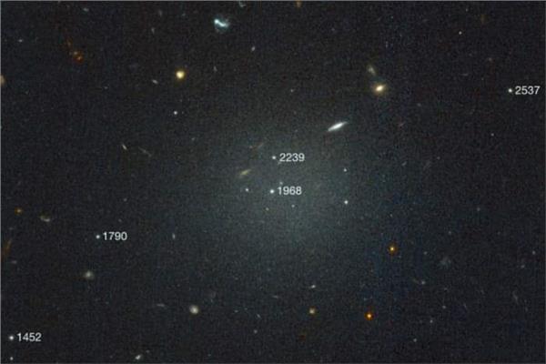 إكتشاف ثاني مجرة