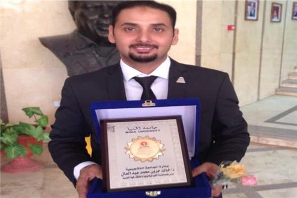 """د.""""خالد حربي"""" بـ""""هندسة المنيا"""" يحصل على جائزة الدولة التشجيعية في العلوم الهندسية لعام2018"""