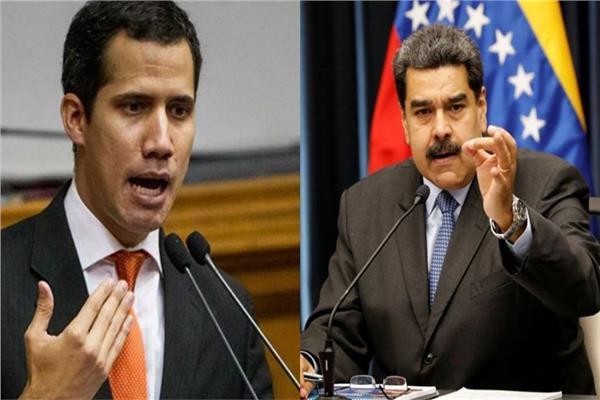 نيكولاس مادورو و خوان جوايدو