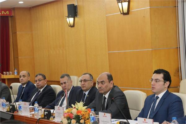 وفد رفيع المستوى من هيئة الرقابة الإدارية في زيارة إلى فيتنام
