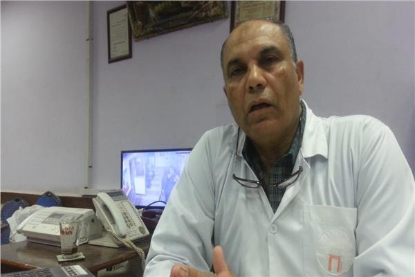 د. اسامه منصور-  رئيس المؤتمر العلمي الأول لمستشفى الصدر بشبين الكوم