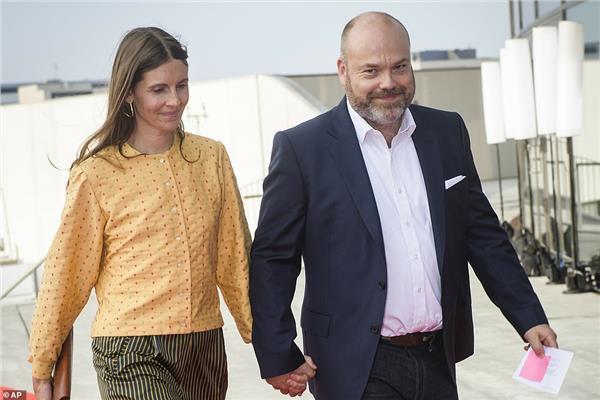 مالك أسوس وزوجته