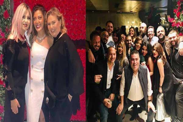 ريهام حجاج تحتفل بزواجها من رجل الأعمال محمد حلاوة