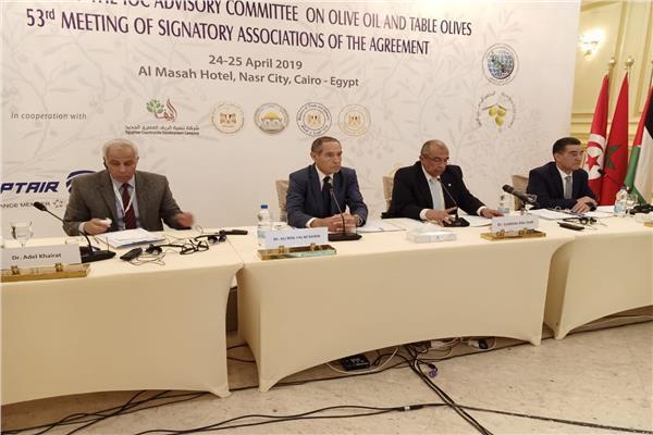 خلال اجتماع المجلس الدولي للزيتون بمصر