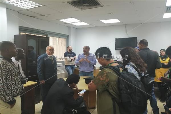 وفد صحفي أفريقي يزور «بوابة أخبار اليوم»