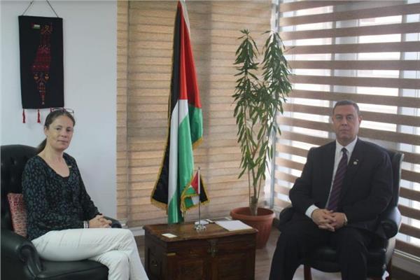 سفير دولة فلسطين بالقاهرة