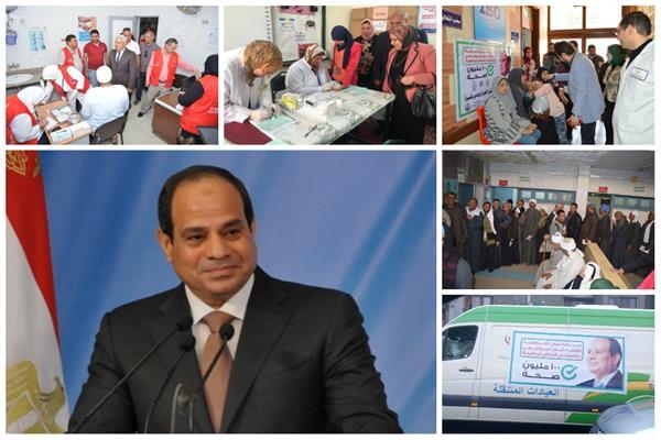 «100 مليون صحة».. مبادرة مصر الإنسانية التي أشادت بها المنظمات الدولية