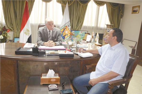 محافظ جنوب سيناء خلال الحوار