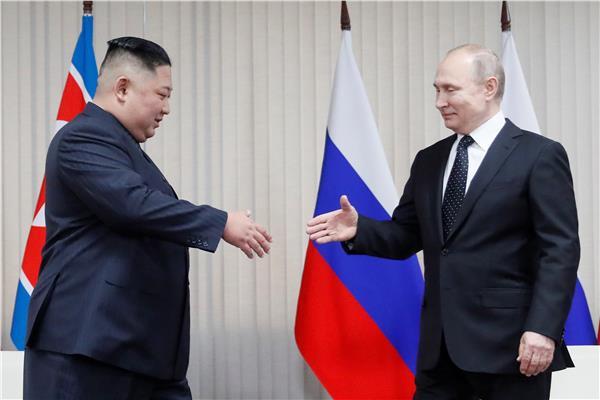 بوتين وكيم جونج أون