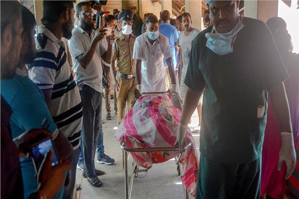 ضحايا الحوادث الإرهابية في سريلانكا