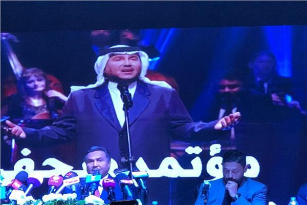 المؤتمر الصحفي لمحمد عبده