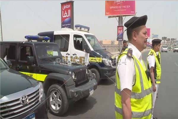 استعدادات أمنية بالشوارع لتأمين احتفالات شم النسيم