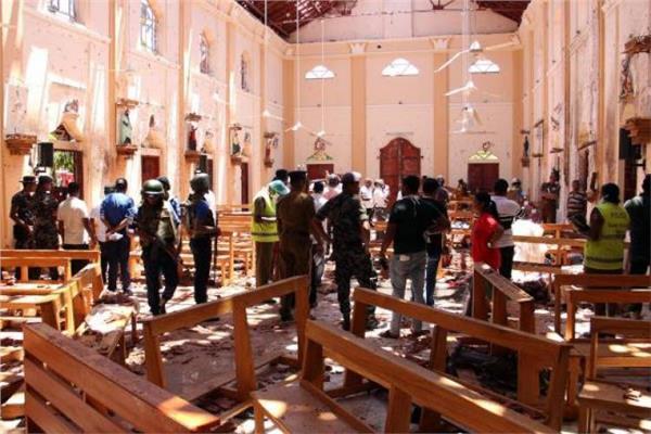 صورة من تفجيرات سريلانكا