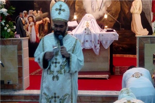 قداس عيد القيامه المجيد بجنوب سيناء