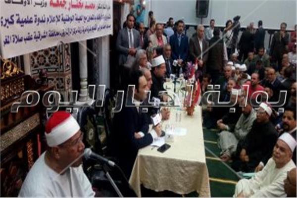 وزير الاوقاف فى الشرقية:افتتاح 300 مسجد جديد خلال الاسبوع القادم
