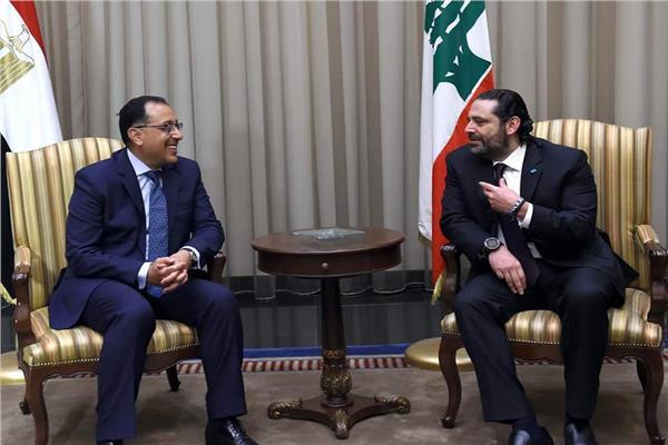 رئيس الوزراء خلال لقائه ونظيره اللبناني سعد الحريري