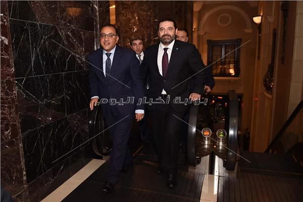 الحريري يستقبل رئيس الوزراء د. مصطفى مدبولي