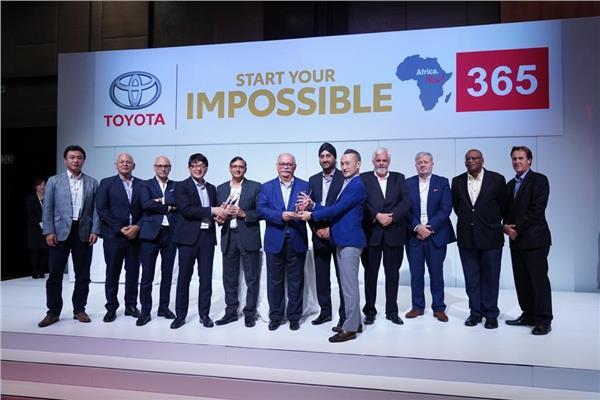 «تويوتا إيجيبت» تحصد الجائزة الماسية للتفوق