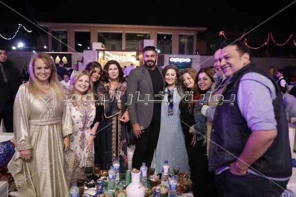 خالد سليم خلال حفل الافتتاح