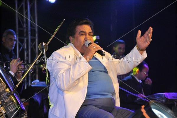 أحمد عدوية خلال الحفل