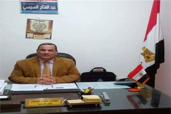 عفيفي محمد وكيل وزارة القوى العاملة بالمنوفية