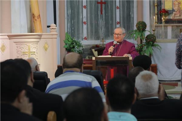 الكنيسة الأسقفية ببورسعيد تحتفل بعيد ميلادها ال١٣٠