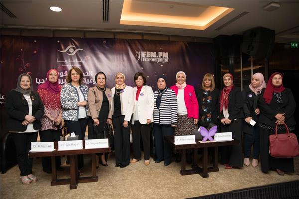 جانب من مؤتمر إطلاق حملة التوعية بالمرض