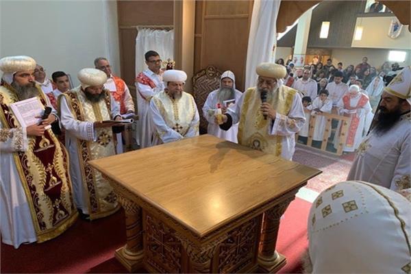 تدشين كنيسة العذراء والقديسة فيرينا بزيورخ