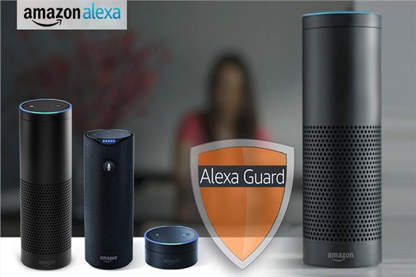 جهاز Alexa Guard