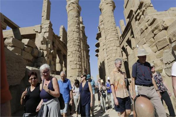 صورة أرشيفية للسياحة في مصر