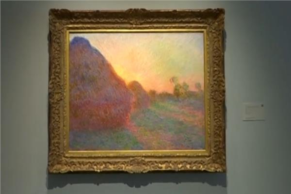 لوحة « الرحي» للرسام كلود مونيه