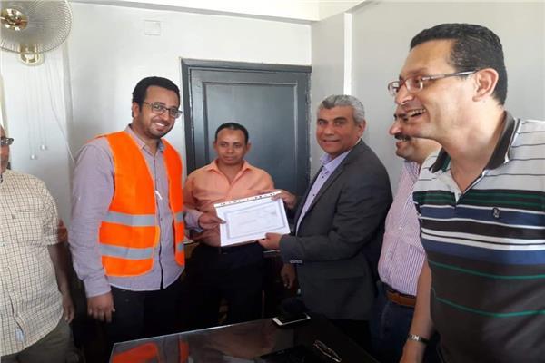 المهندس ياسر الشهاوي رئيس شركة مياه الشرب والصرف الصحي بالمنيا