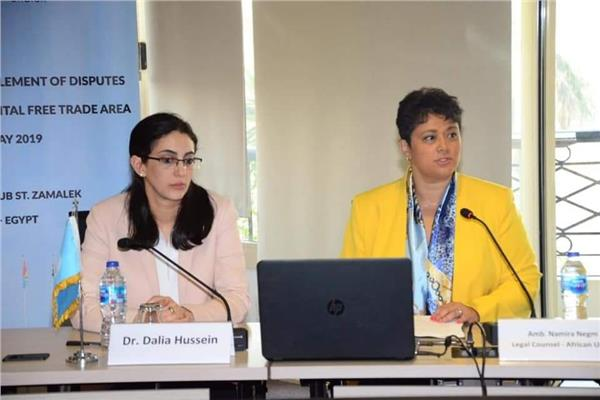 السفيرة د.نميرة نجم المستشار القانوني للاتحاد الافريقي