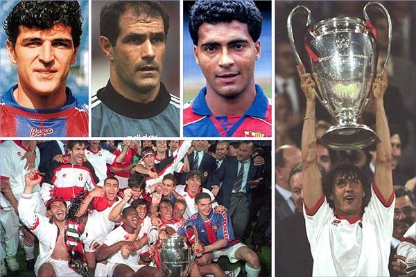 ميلان يهزم برشلونة برباعية في نهائي دوري الأبطال 1994