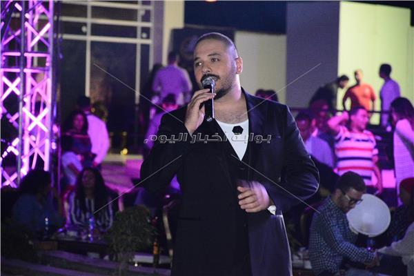 رامي عياش خلال الحفل