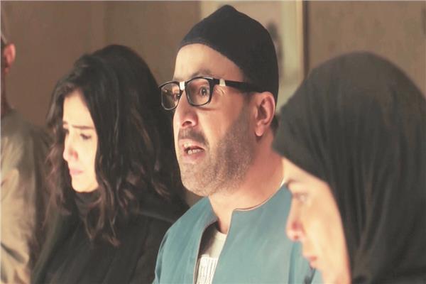 أحمد السقا في مشهد من مسلسل ولد الغلابة