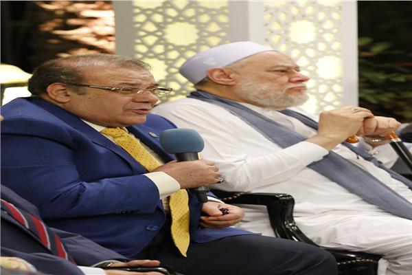علي جمعة وأحمد راتب