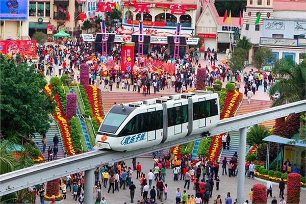 """بالصور..افتتاح أول مدينة """"ملاهي"""" صينية بتكنولوجيا 5G"""