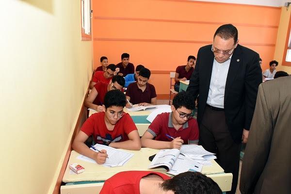 محافظ الشرقية يتابع امتحانات أولى ثانوي