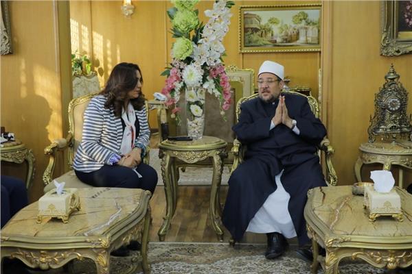 وزير الأوقاف خلال زيارته لمحافظة دمياط