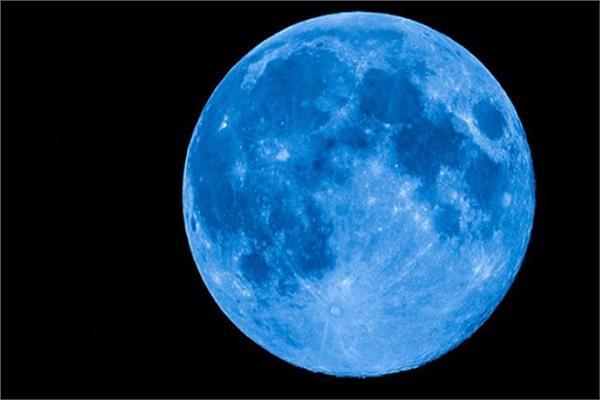 القمر الازرق