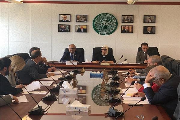 اجتماع المكتب التنفيذي لمجلس وزراء الصحة العرب