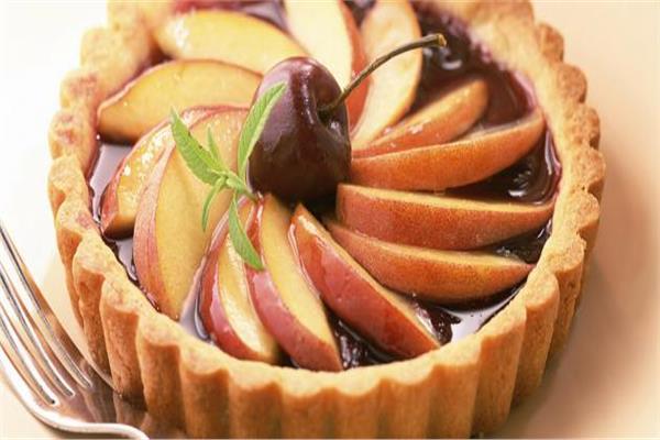 5 رشاقة| طريقة تارت التفاح «الدايت»