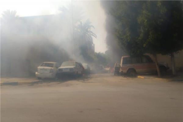 حريق الطالبية