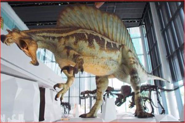 أكبر قاعة عرض ديناصورات فى العالم بالكويت