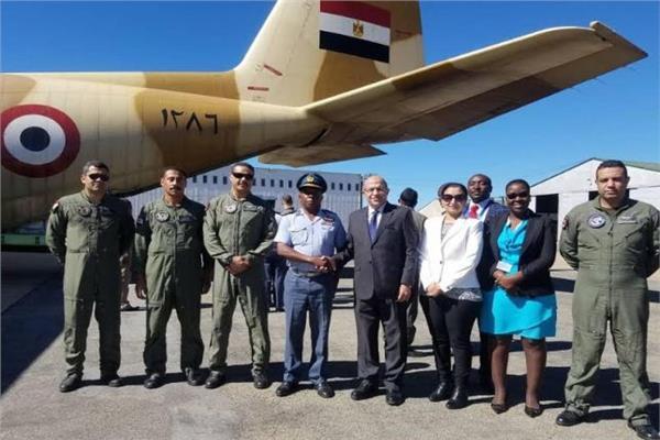 جانب من المساعدات المصرية المقدمة للأشقاء